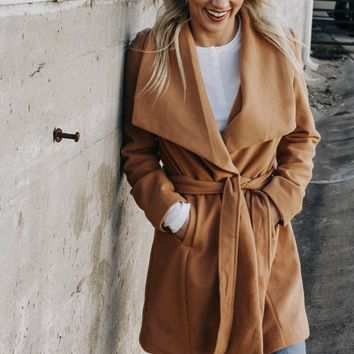 In The Trenches Trench Coat