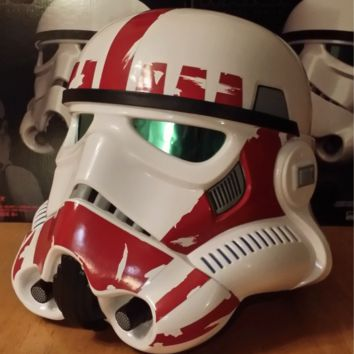Stormtrooper Shock Trooper Clean FULL SIZE 1:1 Wearable Helmet