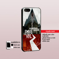 Pierce The Veil and Sleeping With Sirens - Print On Hard Cover - iPhone 4/4S Case and iPhone 5 Case - Samsung Galaxy S3 i9300/ S4 i9500
