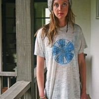 the microorganism mandala t-shirt