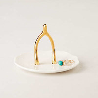 Wishbone Jewelry Holder by Anthropologie White One Size Bath