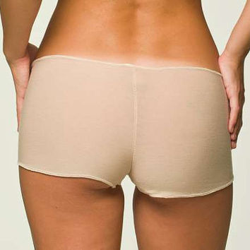 Tan Panties Lingerie Boyshort  Small by NaughtyNaughty on Etsy