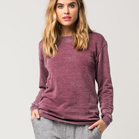 PROJECT KARMA Burnout Womens Sweatshirt | Sweatshirts + Hoodies