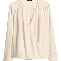 Wraparound Blouse - from H&M