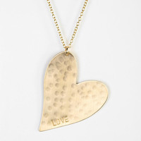 Urban Outfitters - Nashelle Heart Necklace