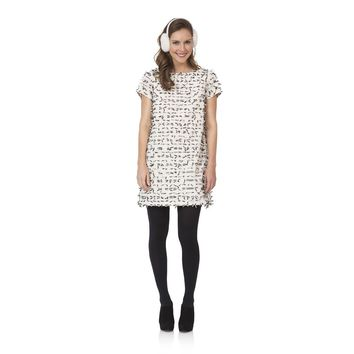 Shift Dress with Bows in Cream by Sail to Sable