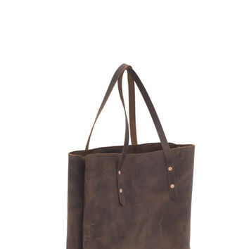 Leather Mill Bag - Boutonne´