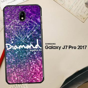Glitter Diamond Supply Co Z0290 Samsung Galaxy J7 Pro SM J730 Case