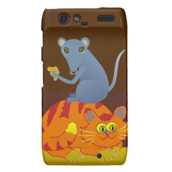 Cat & Mouse Droid RAZR Case