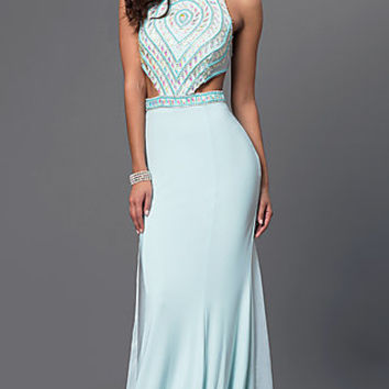 Dresses, Formal, Prom Dresses, Evening Wear: Dave and Johnny Prom Dress 2434 with Open Back