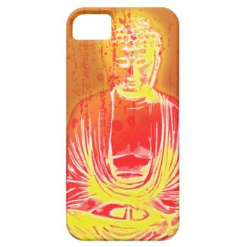 Spirited Glow Buddha iPhone 5G Case iPhone 5 Case from Zazzle.com