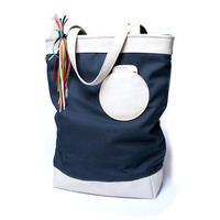 Shopper leather cordura bag, leather oversized bag, shopper tote bag, everyday bag, shoulder handbags, shopper bag