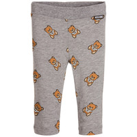 Moschino Baby Girls Grey Teddybear Leggings