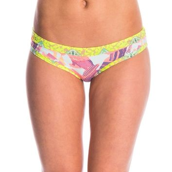 Maaji Swimwear Canvas MoMA Please Signature Bikini Bottom at SwimOutlet.com - Free Shipping