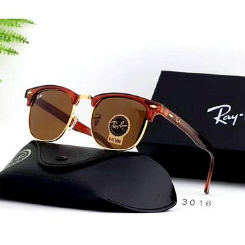 Ray Ban 2019 new men and women models large frame polarized driving sunglasses #3
