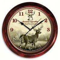 Deer Design Wall Clock