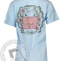 Gamma Phi Beta No Place Like Home Tshirt - Adam Block Design
