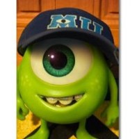 New Monsters University Mike Wazowski and James P. Sullivan Fashion Seamless Back Cover Case for Iphone 5 & 5g-i51p02