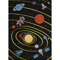 Momeni 'Lil Mo Solar Black Rug (2' x 3')   Overstock.com Shopping - The Best Deals on Accent Rugs