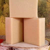 Goat Milk Soap, adds relief of eczema and psoriasis, dye free, scent free, homemade natural soap,