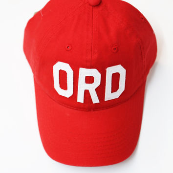 Aviate Ball Cap ORD {Red}