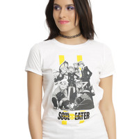 Soul Eater Death Weapon Meister Students Girls T-Shirt