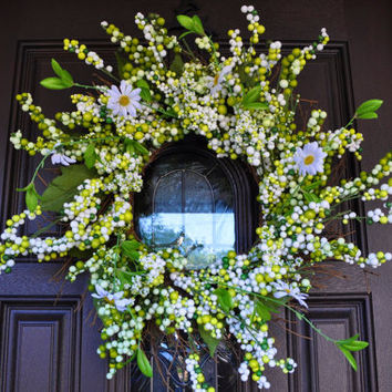 Summer Wreath, Wreath, Flower, Flower Wreath,