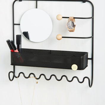 Primped Out Jewelry Organizer | Mod Retro Vintage Decor Accessories | ModCloth.com