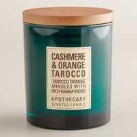 Cashmere and Tarrocco Orange Apothecary Candle - World Market