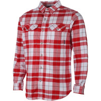 Wisconsin Badgers Columbia Collegiate Flare Gun Omni-Shield Flannel Shirt – Cardinal