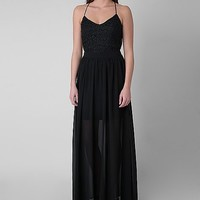 Double Zero Lace Maxi Dress