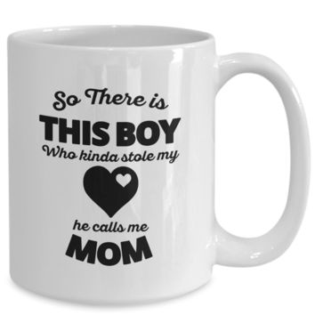 This Boy Stole My Heart v2 - 15oz Mug