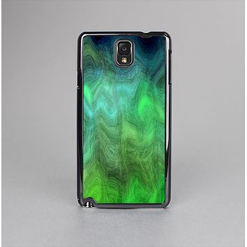 The Vivid Green Sagging Painted Surface Skin-Sert Case for the Samsung Galaxy Note 3