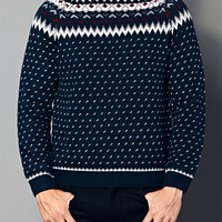 Dotted Fair Isle Sweater