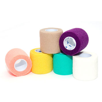 Professional Waterproof Exercise Therapy Bandage Elastic Physio Therapeutic Tape  4.5m * 5cm FREE SHIPPING!