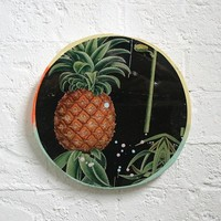 BLACK PINEAPPLE PORTHOLE | ART | AHOY TRADER