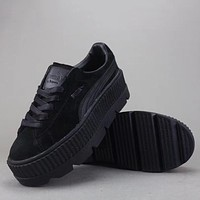 Trendsetter Puma Cleated Creepers Suede Wn.S  Women Men Fashion Old Skool Casual Shoes