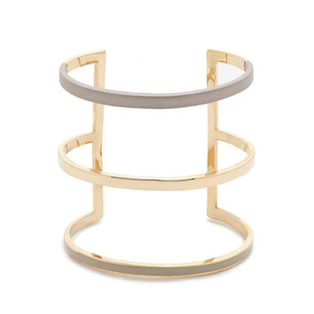 J.Crew Womens Triple Bar Cuff Bracelet