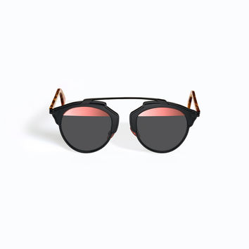 Dior - So Real Bleu Black And Pink Sunglasses