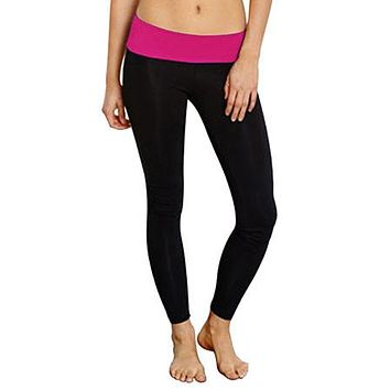 High Waist Yoga Pants Stretch Fit Trousers