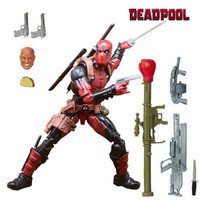 Marvel Legends Action Figure Pizza Spiderman Spider Man Wolverine Deadpool Wade Winston Model Toys for Christmas New Year Gift