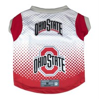 Chenier Ohio State Buckeyes Pet Performance Tee