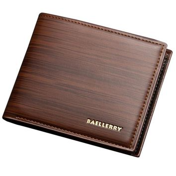 Brand Carteira Mens wallets Fashion Leather ID Card Holder Billfold Coin purse Wallet Mens wallets and purses Portemonnee