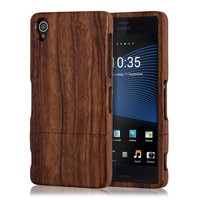 Real Natural wood case for the Sony Xperia Z3 D6603, D6633, D6643, D6653, D6616