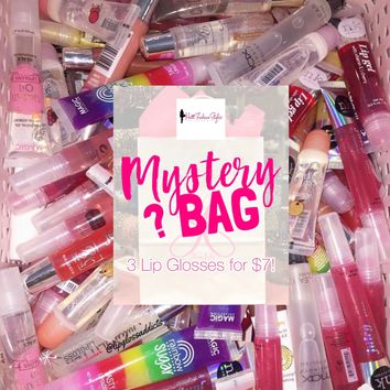 Mystery lipgloss bags