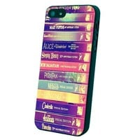 Walt Disney All Book Princess Custom Case for Iphone 5/5s