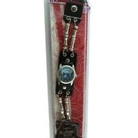 Disney #41574 Nightmare Before Christmas Jack Skellington Leather Strap Watch