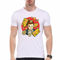 Stranger Things Eleven Eggo Waffles Short Sleeve T-Shirt