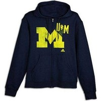 University of Michigan Wolverines sweatshirt Adidas NWT Big Blue NCAA hoody UM