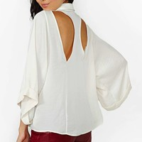 Nasty Gal Sleepless Nights Blouse